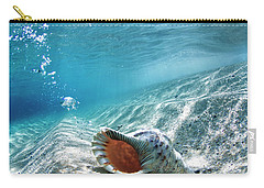 Conch Shell Bubbles Carry-all Pouch