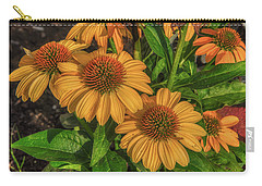 Carry-all Pouch featuring the photograph Coneflowers  by Guy Whiteley