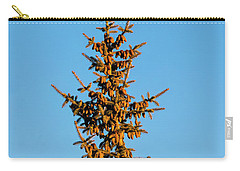 Carry-all Pouch featuring the photograph Cones by Jon Burch Photography