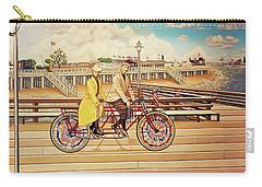 Coney Island Boardwalk Pillow Mural #5 Carry-all Pouch