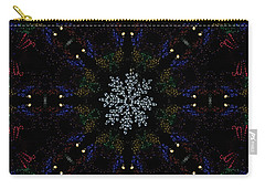 Continuous Christmas Lights Carry-all Pouch