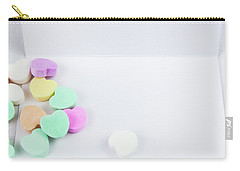 Conversation Hearts On A Notecard Carry-all Pouch