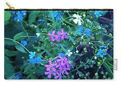 Carry-all Pouch featuring the photograph Cool Bouquet by Rosanne Licciardi