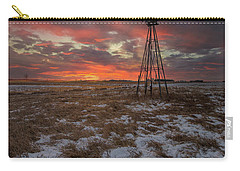 Carry-all Pouch featuring the photograph Cool Breeze  by Aaron J Groen