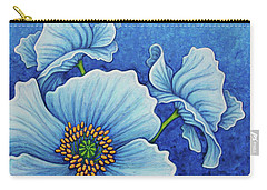 Carry-all Pouch featuring the painting Cool Grace by Amy E Fraser