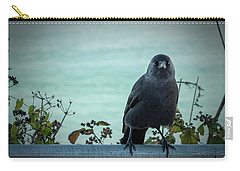 Cornish Crow Carry-all Pouch