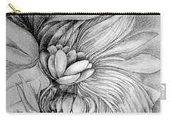 Carry-all Pouch featuring the drawing Cornucopia by Rosanne Licciardi