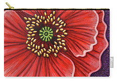 Carry-all Pouch featuring the painting Cosmic Countess by Amy E Fraser