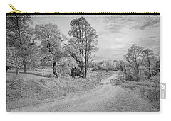 Carry-all Pouch featuring the photograph Country Road by John M Bailey