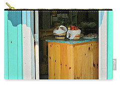 Carry-all Pouch featuring the photograph Country Store by Tatiana Travelways