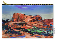 Courthouse Butte Rock - Sedona Carry-all Pouch