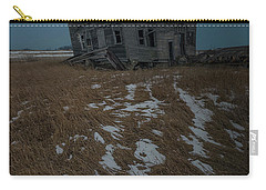 Carry-all Pouch featuring the photograph Crooked Moon by Aaron J Groen