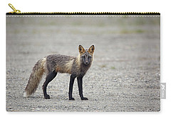 Cross Fox In Alaska Carry-all Pouch