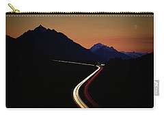 Carry-all Pouch featuring the photograph Crossing The Alps by Edmund Nagele