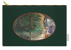 Crossing Timber Bridge Carry-all Pouch