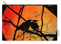 Crows Moon Carry-all Pouch