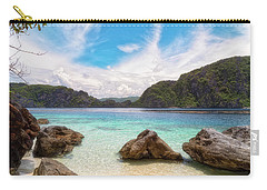 Carry-all Pouch featuring the photograph Crystal Clear by Russell Pugh