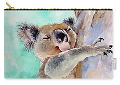 Cuddly Koala Watercolor Painting Carry-all Pouch