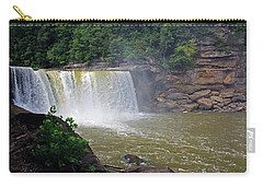 Carry-all Pouch featuring the photograph Cumberland Falls Kentucky by Angela Murdock