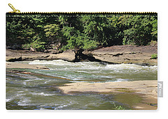 Carry-all Pouch featuring the photograph Cumberland River by Angela Murdock