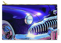 Custom 1949 Purple Buick Carry-all Pouch