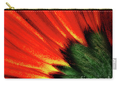 Daisy Aflame Carry-all Pouch