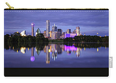 Carry-all Pouch featuring the photograph Dallas Cityscape by Robert Bellomy