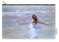 Dancing On The Sand Carry-all Pouch