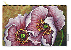 Carry-all Pouch featuring the painting Dark Confession by Amy E Fraser