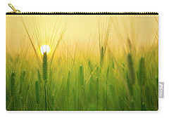 Dawn At The Wheat Field Carry-all Pouch