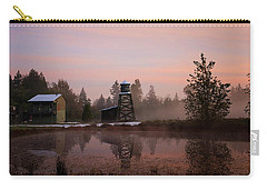 Carry-all Pouch featuring the photograph Dawning Of A New Day - Hope Valley Art by Jordan Blackstone
