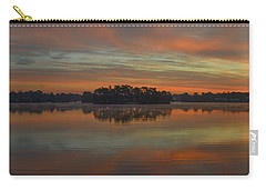December Sunrise Over Spring Lake Carry-all Pouch