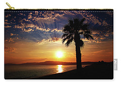 Carry-all Pouch featuring the photograph Deep Serene  by Milena Ilieva