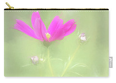 Delicate Painted Cosmos Carry-all Pouch