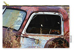 Derelict Truck In Weeds Carry-all Pouch