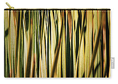 Carry-all Pouch featuring the photograph Desert Grasses I by Leda Robertson