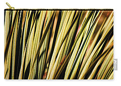 Carry-all Pouch featuring the photograph Desert Grasses II by Leda Robertson