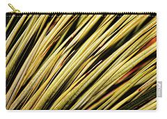 Carry-all Pouch featuring the photograph Desert Grasses IIi by Leda Robertson