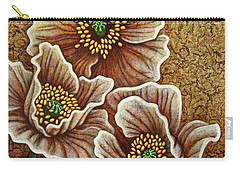 Carry-all Pouch featuring the painting Desert Heirs by Amy E Fraser