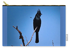 Desert Phainopepla And Dragonfly Carry-all Pouch