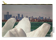 Detroit River Ice Carry-all Pouch