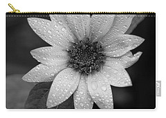 Dewdrops On A Sunflower Carry-all Pouch