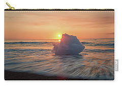 Diamond Beach Sunrise Iceland Carry-all Pouch