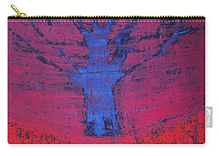 Disappearing Tree Original Painting Carry-all Pouch
