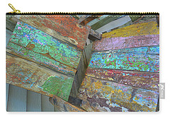 Carry-all Pouch featuring the photograph Distressed In Color by Jamart Photography