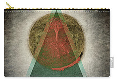 Carry-all Pouch featuring the digital art Divided by Edmund Nagele