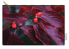 Dogwood Leaves In The Fall Carry-all Pouch