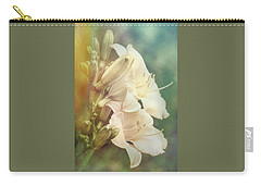 Carry-all Pouch featuring the photograph Dreamy Lilies by Leda Robertson