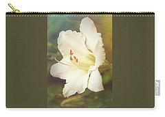 Carry-all Pouch featuring the photograph Dreamy Lily by Leda Robertson
