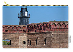 Carry-all Pouch featuring the photograph Dry Tortugas National Park, Fort Jefferson by Kay Brewer